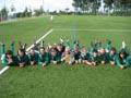 Unsere Frauenmannschaft beim Siegerfoto